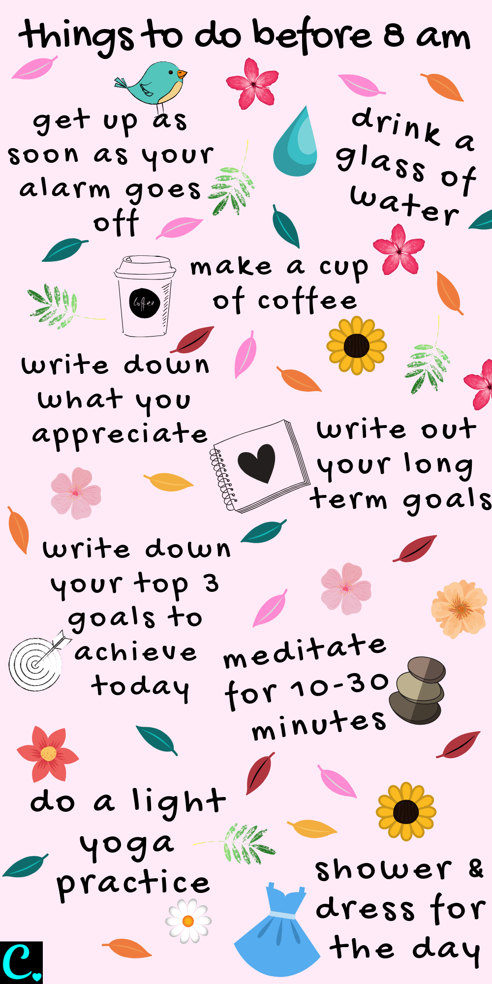 The best morning routine infographic   * things to do before 8 am   Productivity tips   habits for success   #productivityinfographic #productivitytips #morningroutine #infographic #morningroutineinfographic #healthyroutineinforgraphic #captivatingcrazy Via: https://captivatingcrazy.com