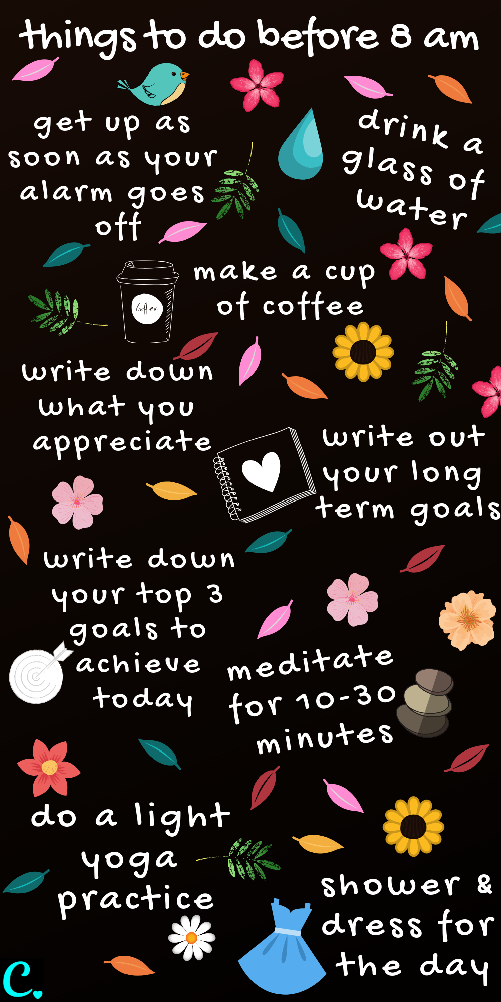 The best morning routine infographic   * things to do before 8 am   Productivity tips   habits for success   #productivityinfographic #productivity #habitsofeffectivepeople #infographic #morningroutineinfographic #healthyroutineinforgraphic #captivatingcrazy Via: https://captivatingcrazy.com
