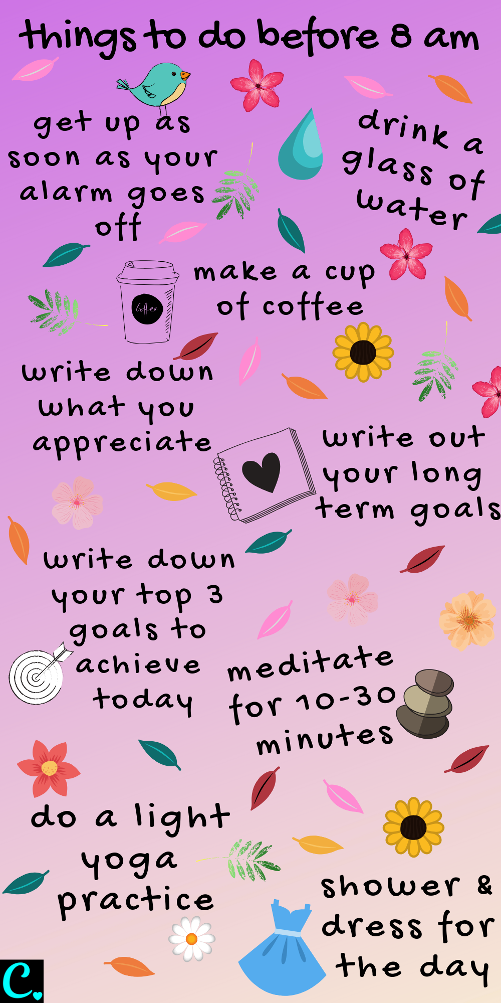 The best morning routine infographic   * things to do before 8 am   Productivity tips   habits for success   #morningroutine #productivityinfographic #infographic #morningroutineinfographic #healthyroutineinforgraphic #captivatingcrazy Via: https://captivatingcrazy.com