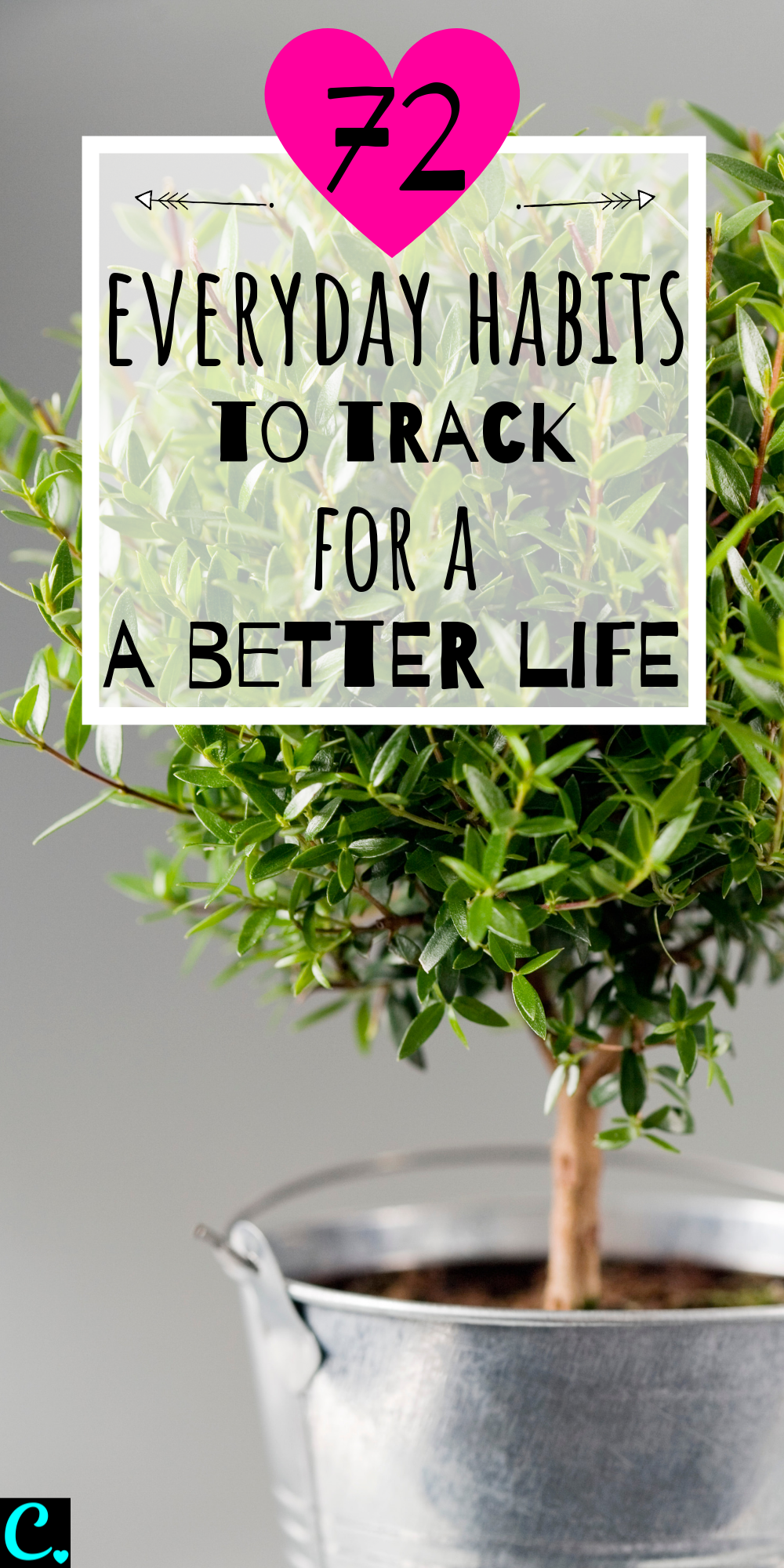 72Everyday Habits to Track For A Better Life! Get a healthy lifestyle by tracking your habits & breaking bad habits! #habittracking #breakbadhabits #bulletjournalideas #bulletjournallayout #selfcare #personaldevelopment