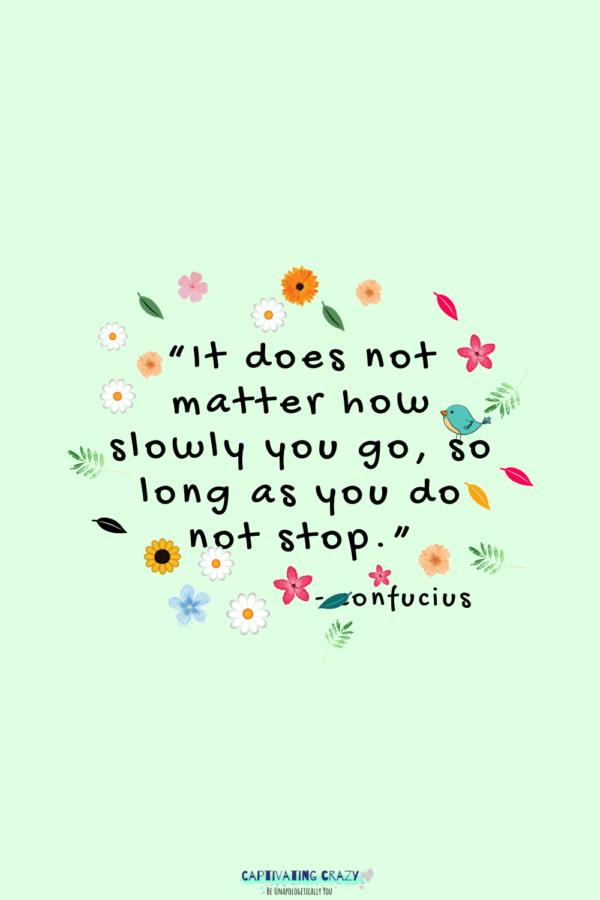 Motivation Monday quote Confucius
