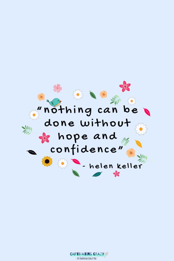 Monday quote Helen Keller
