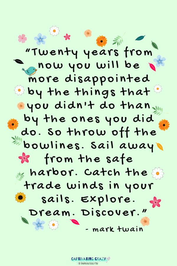 Monday quote Mark Twain