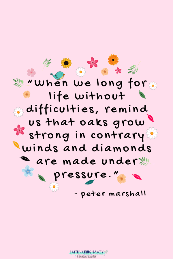 Monday quote Peter Marshall