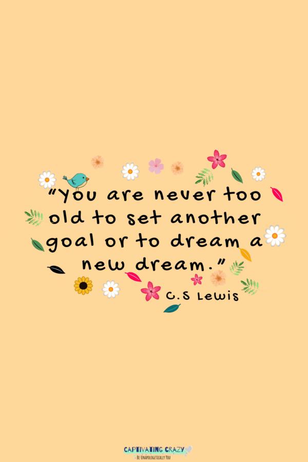 Monday quote C.S. Lewis