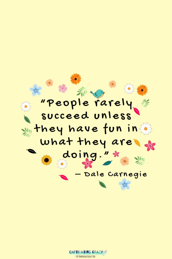 Motivation Monday quote Dale Carnegie