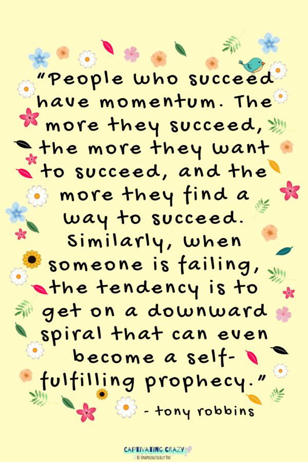 Monday quote Tony Robbins