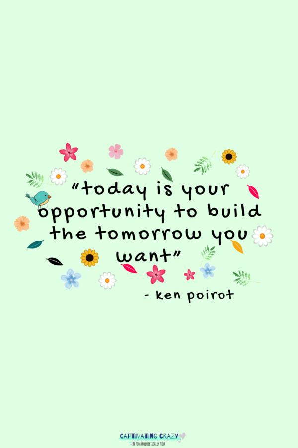 Monday quote Ken Poirot