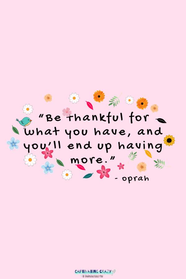 Monday quote Oprah Winfrey