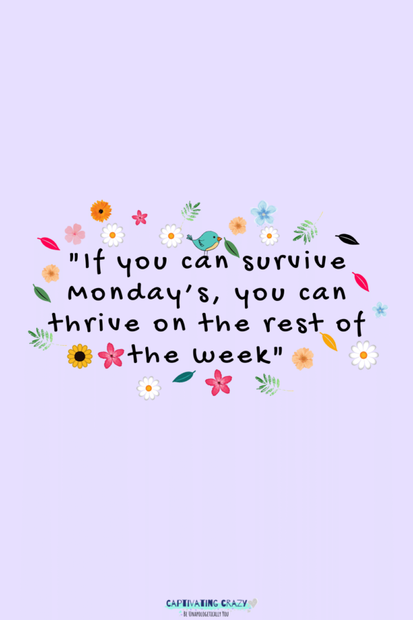Monday quote Unknown