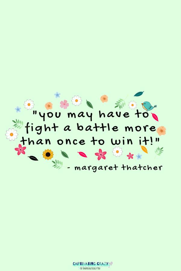Monday quote Maggie Thatcher