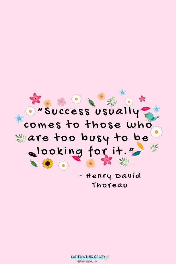 Monday quote Henry Davis Thoreau