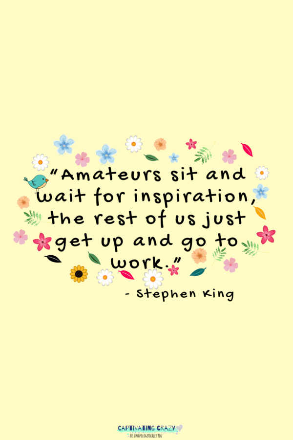 Monday quote Stephen King