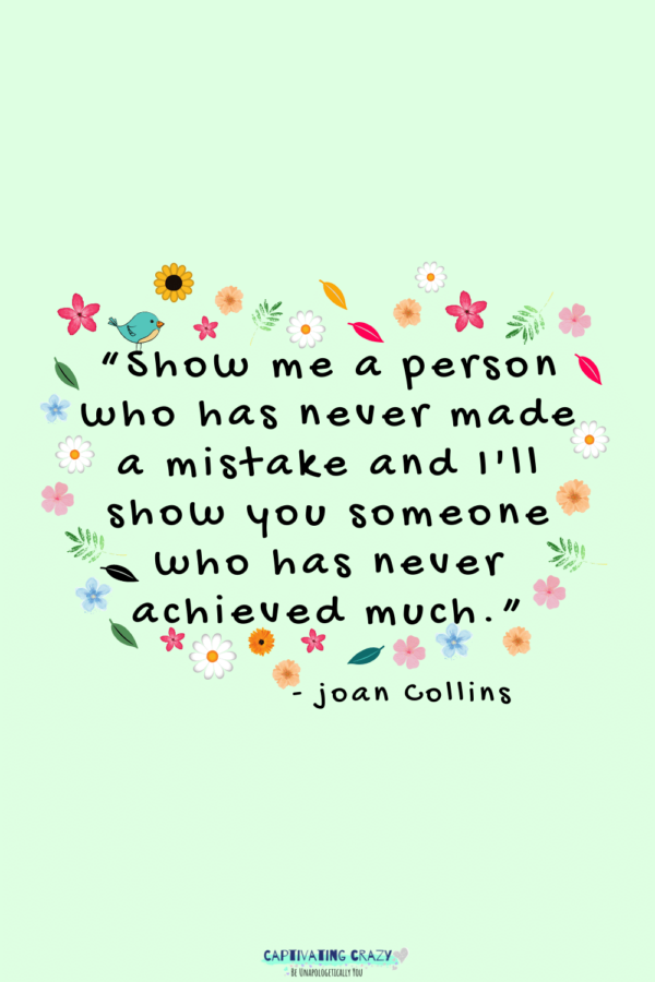 Monday quote Joan Collins