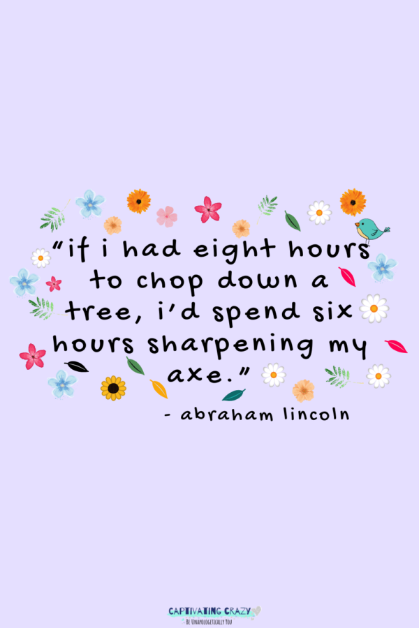 Monday quote Abraham Lincoln
