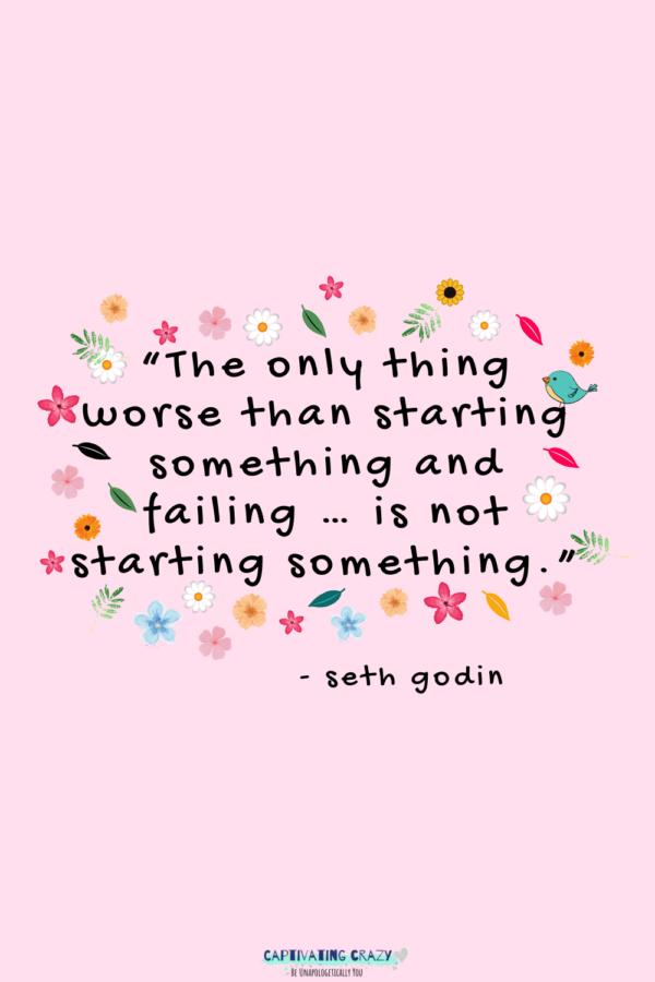 Monday quote Seth Godin