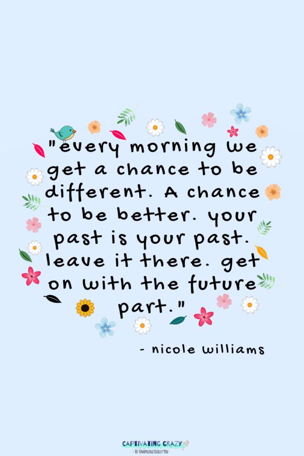 Motivation Monday quote Nicole Williams