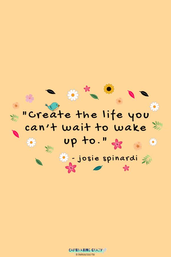 Motivation Monday quote Josie Spinardi