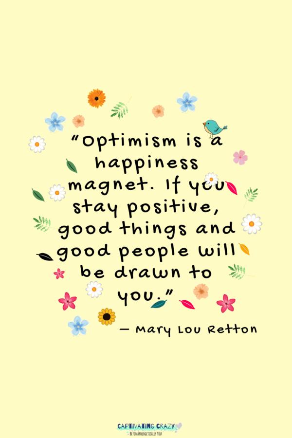 Monday quote Mary Lou Retton