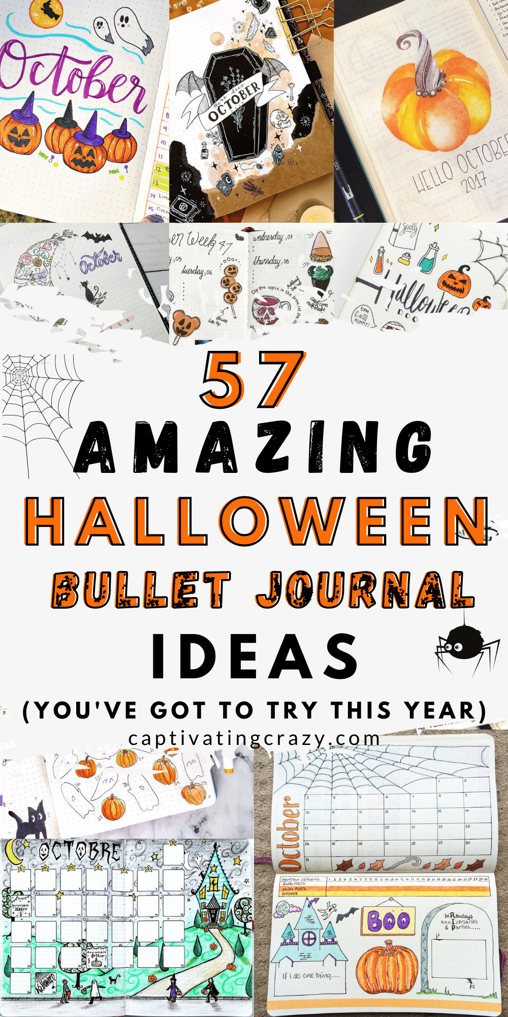 57 Amazing Halloween Bullet Journal Ideas You Need To Try This Year!