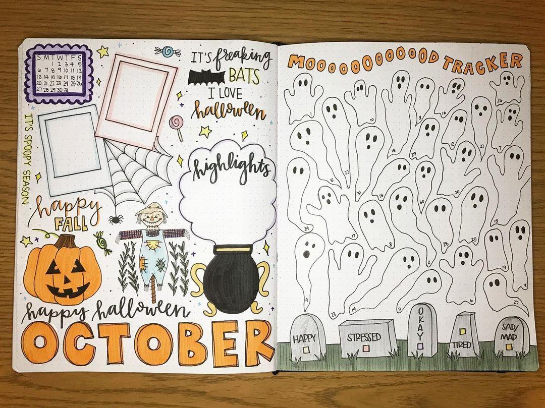 Halloween Mood Tracker