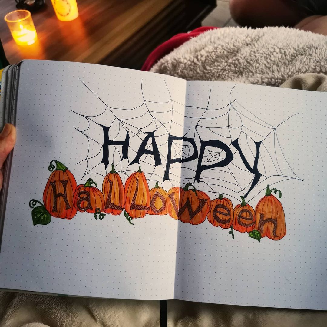 Happy Halloween Cover Page