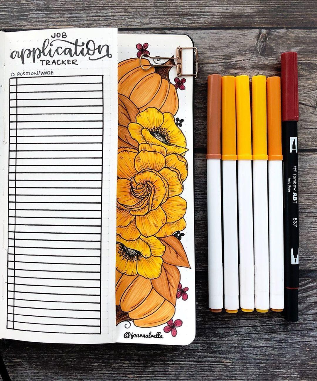 Pumpkin Job Application Tracker