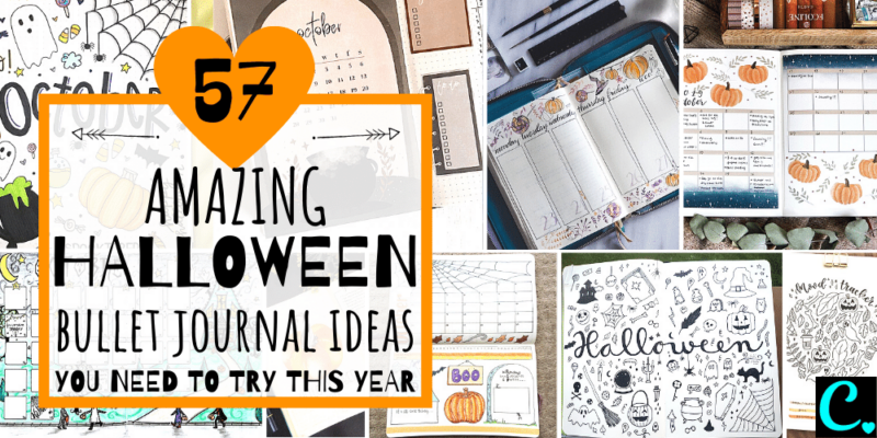 Halloween Bullet journal ideas featured image