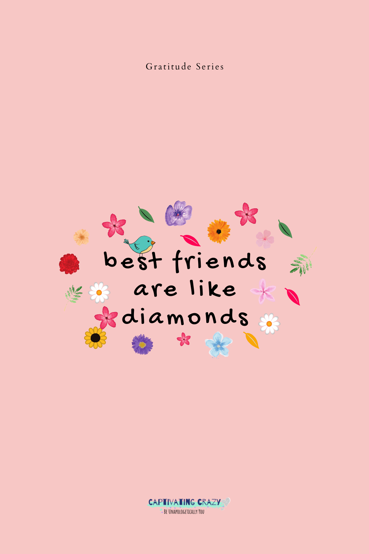 Best friends quote image