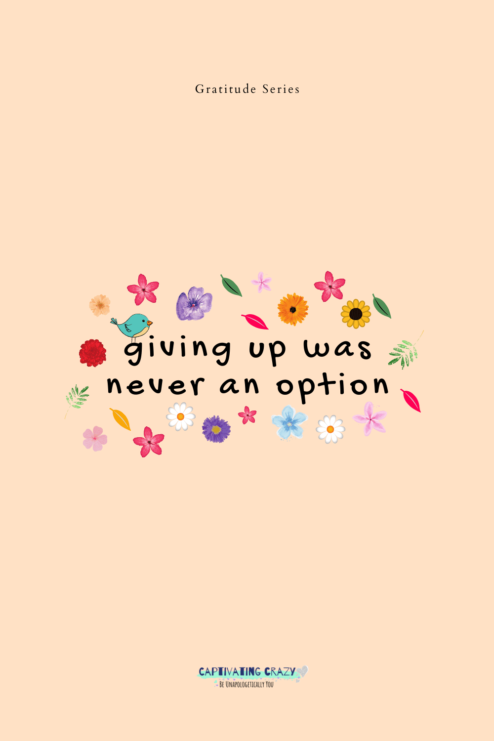 quote about not giving up