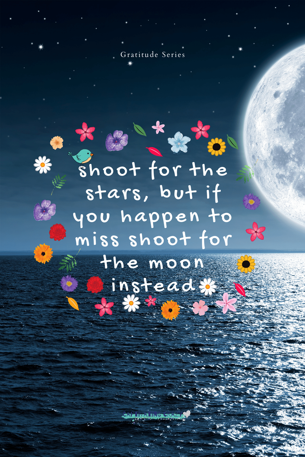 Shoot for the stars quote by Neil Armstrong